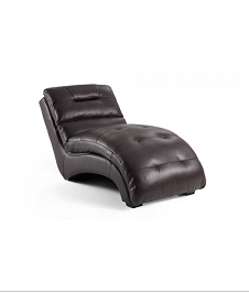 Asp Chaise Lounge-Brown