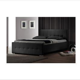 Alisson Tufted Leather Bed