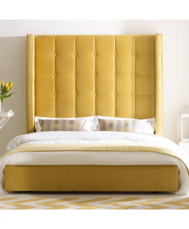 Avelina Yellow 6 by 6 Bed