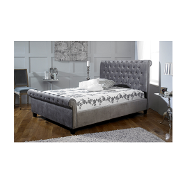 Francesca 6 by 6 Tufted Bed with Mattress