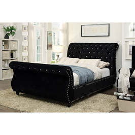 Dianna 4.5 by 6 Tufted Bed
