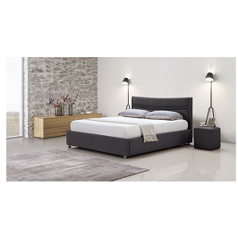 Elena 4.5 by 6 Bed with Mattress