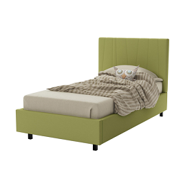 Massima 3.5 by 6 Bed- Green with Mattress