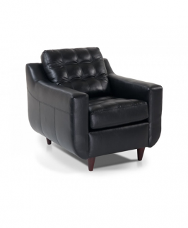 Mercury Black Arm Chair