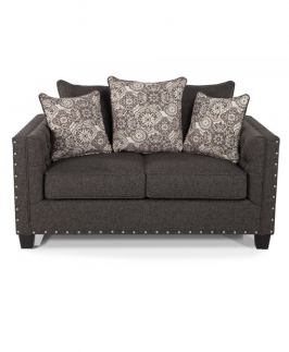 Greyish LOVESEAT- Grey