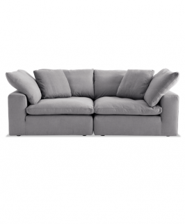 BARA MODULAR LOVESEAT- Grey