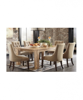Ality Tufted Dining Set